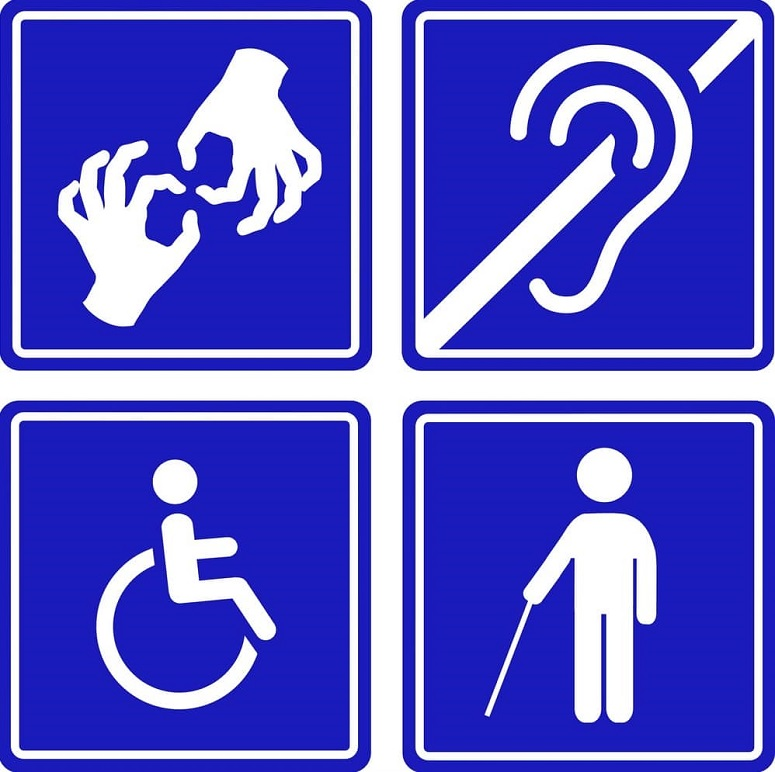 accessibility disability signage