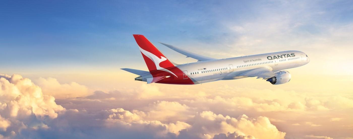 Qantas unveils special centennial livery