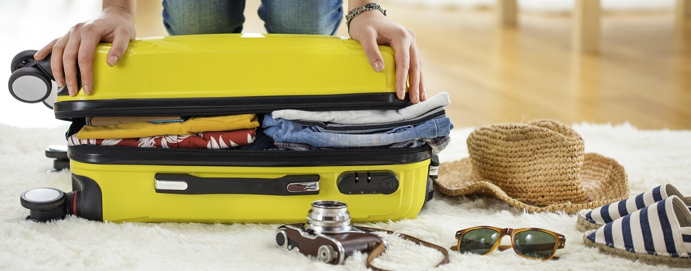 How to holiday with just hand luggage