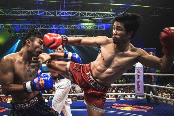 Muay Thai fight