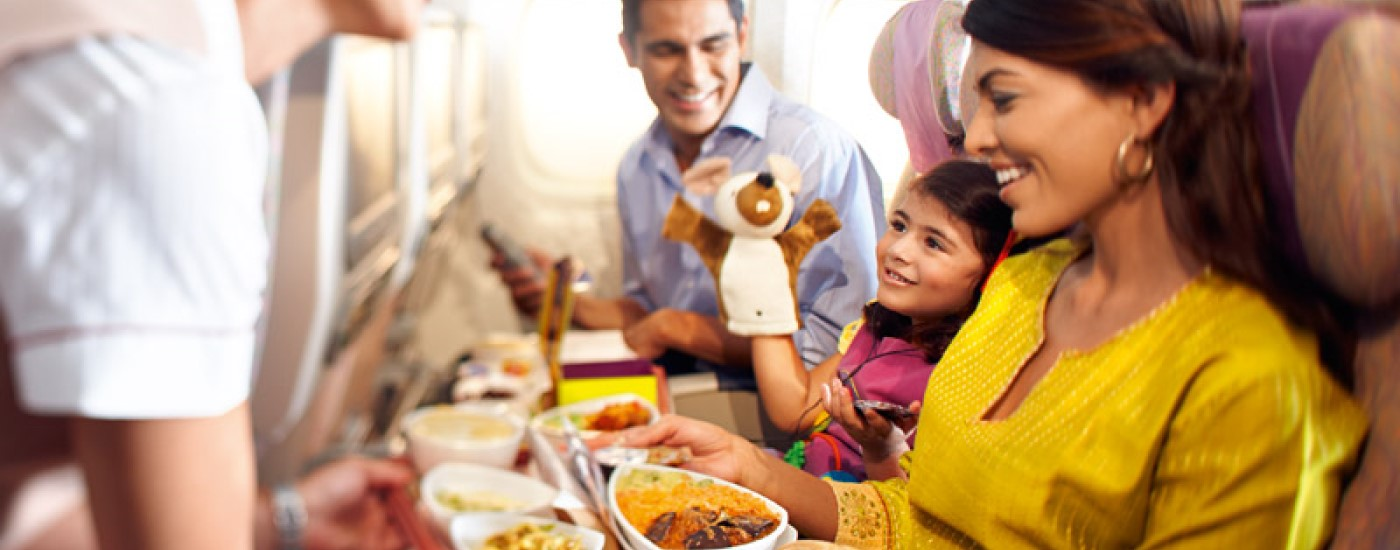 Which airlines have the best Economy Class food?