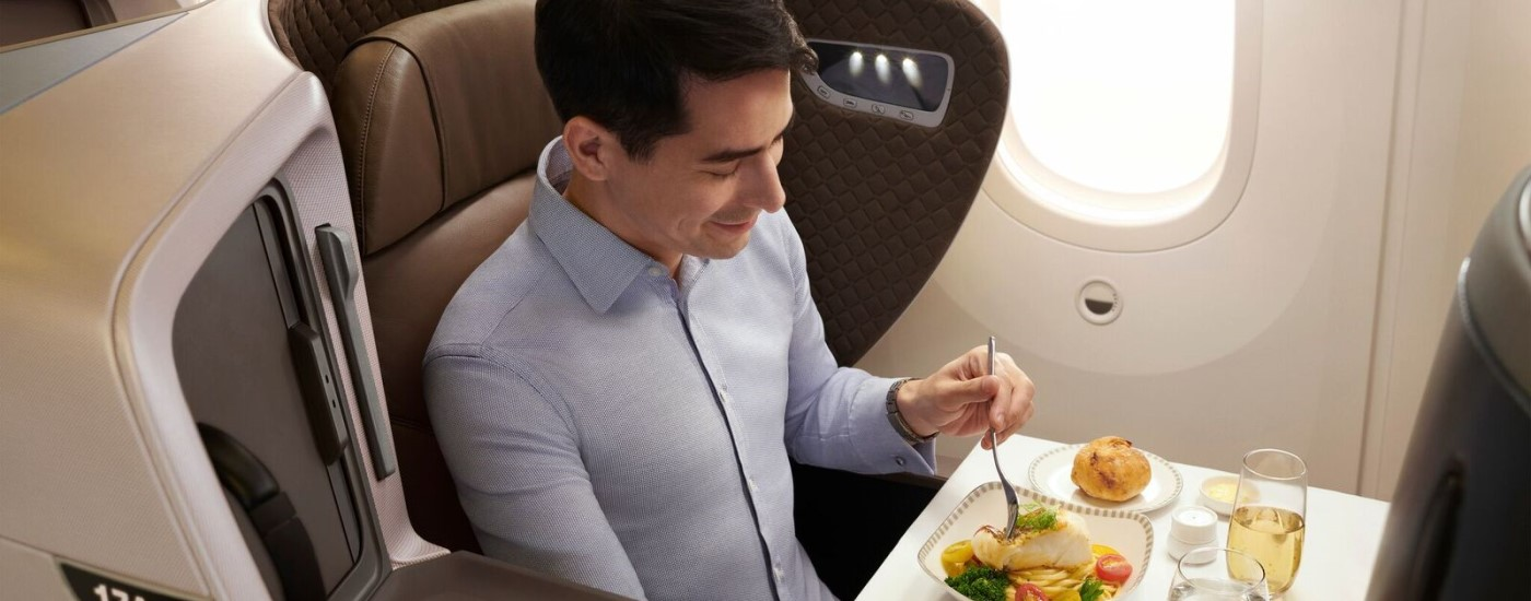 Which airlines have the best Business Class food?