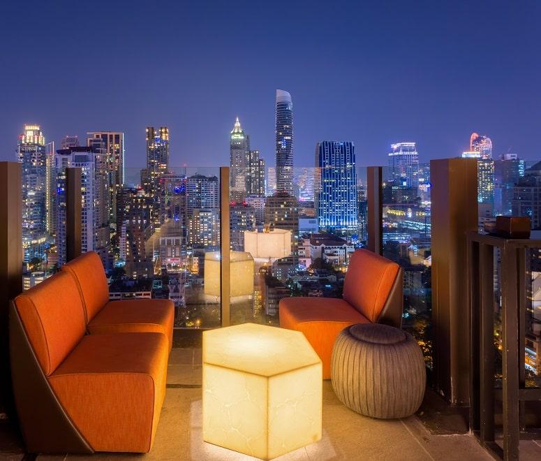 Rooftop bar Bangkok