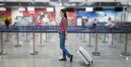 airport pandemic travel