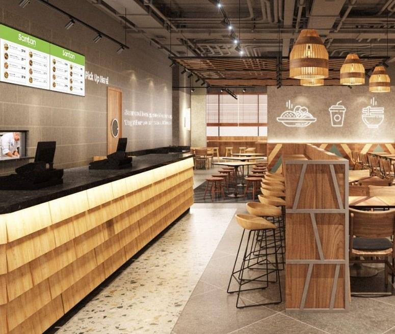 AirAsia Santan restaurant