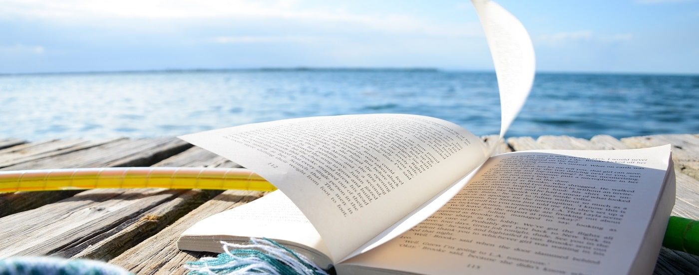 Best books to read while we can't travel
