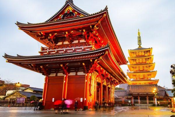 Tokyo Senso-ji Temple