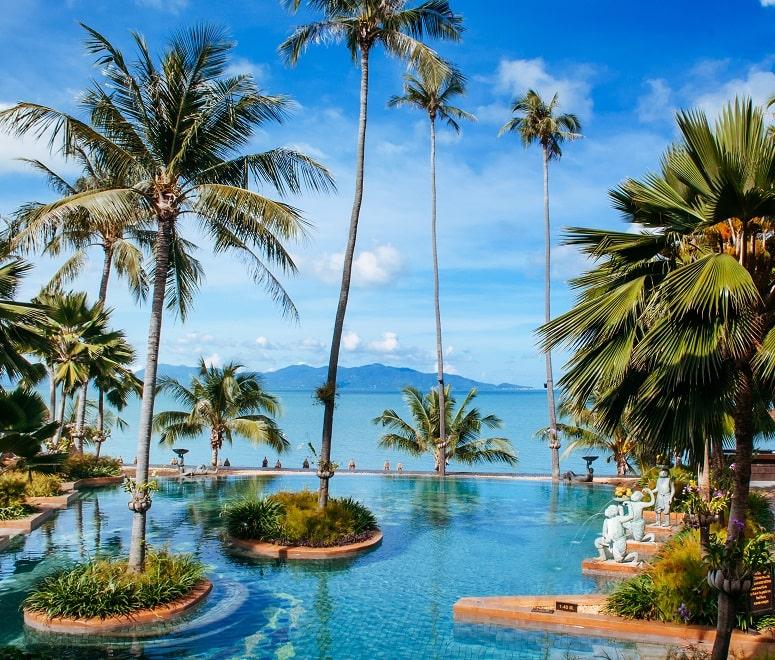 Luxury hotel in Koh Samui, Thailand