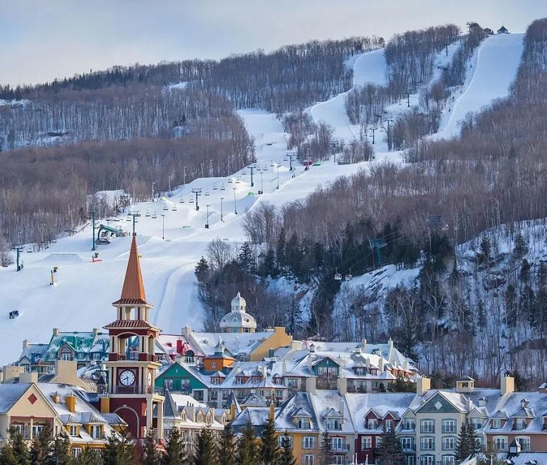 Canada's best ski resorts - Tremblant