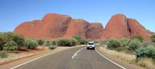 Book car hire in Australia