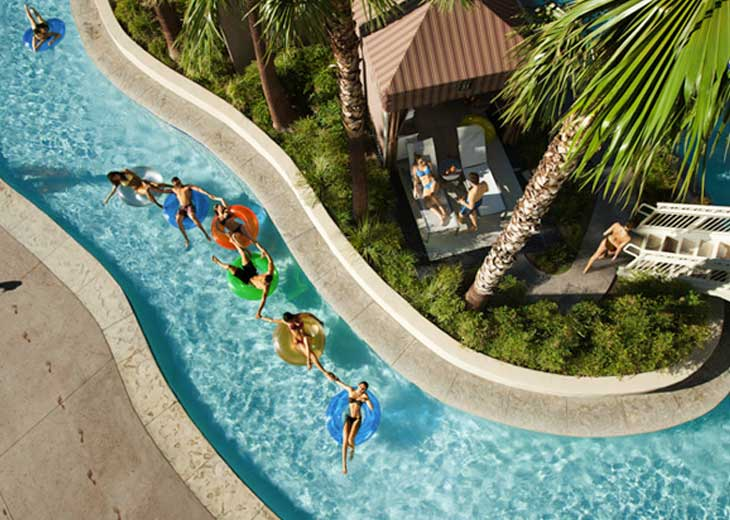 Cheap holiday and hotel deals at mandalay bay resort casino las vegas with for Best swimming pools in las vegas hotels