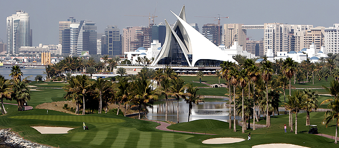 An image of a golf course in Dubai