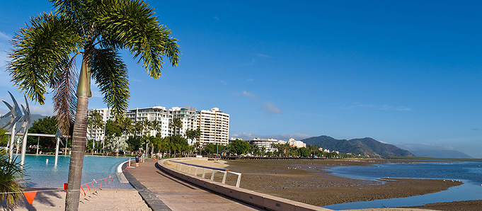 Cairns beach view