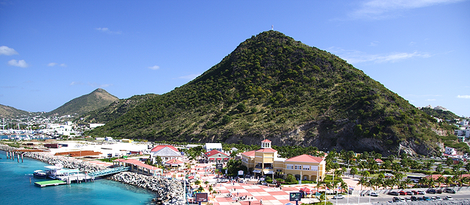 Antigua harbour view