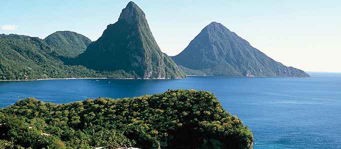 Beach holiday in St Lucia