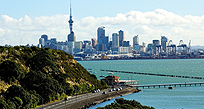 An Auckland skyline