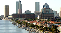 An image of skyscrapers in Tampa