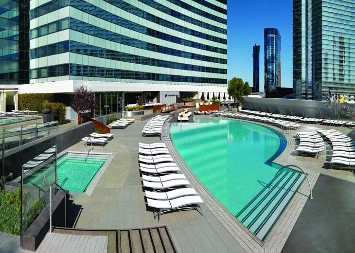 Vdara Hotel & Spa at ARIA Las Vegas adds a sophisticated, international flair to the Las Vegas skyline. While guests at Vdara have access to the many amenities of ARIA Resort & Casino, they also have plenty to enjoy solely at Vdara.