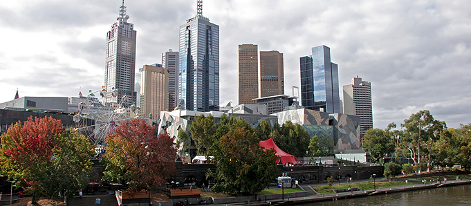 Skyscrapers in Melbourne