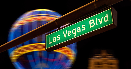 An image of the Las Vegas Blvd sign
