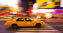 Image of a New York taxi