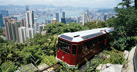 An image of a Hong Kong train