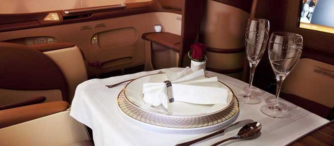 Oman Air Business Class Service