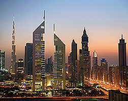 Jumeirah Emirates Towers View
