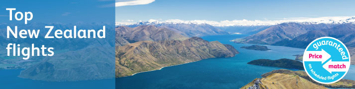 New Zealand Flight Deals