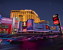 Planet Hollywood View of Exterior