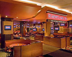 Planet Hollywood Cafe area