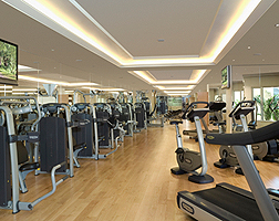 Excelsior, Hong Kong, Gym