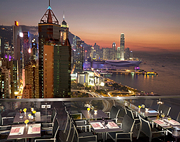 Excelsior, Hong Kong, Roof Terrace