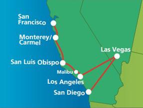 California fly-drive holidays | Netflights.com