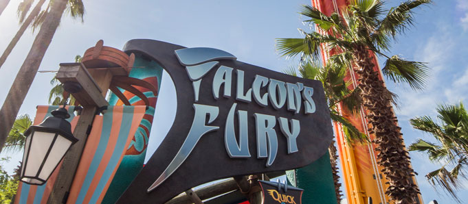 NEW! Falcon's Fury
