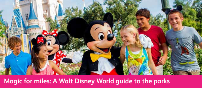 Walt Disney World Park Guide Mickey