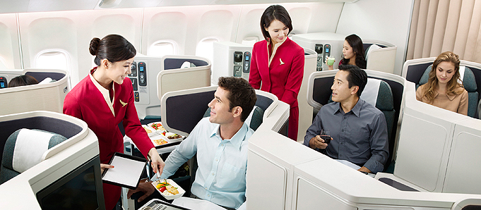 Cathay Pacific 04 Business Class 1
