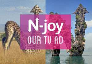 N-joy our new TV ad