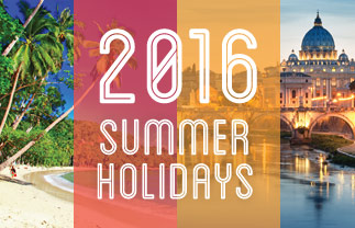 2016 Summer Holidays