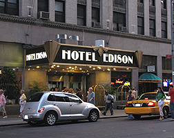 The Edison Hotel New York In The Know