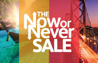 The Now or Never Sale