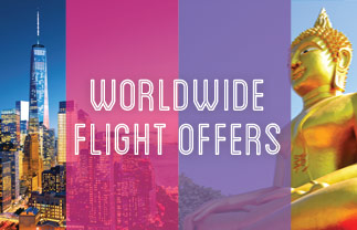 Worldwide flights