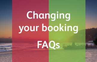 Changing Your Booking