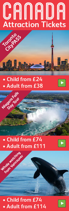 Canada attraction tickets