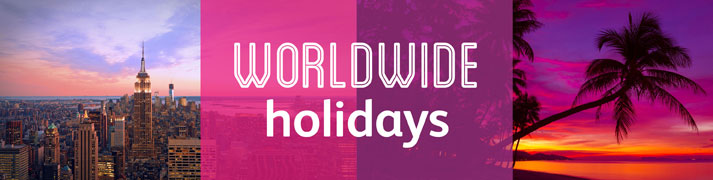 Amazing worldwide holiday deals