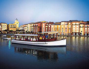 Loews Portofino Bay lake