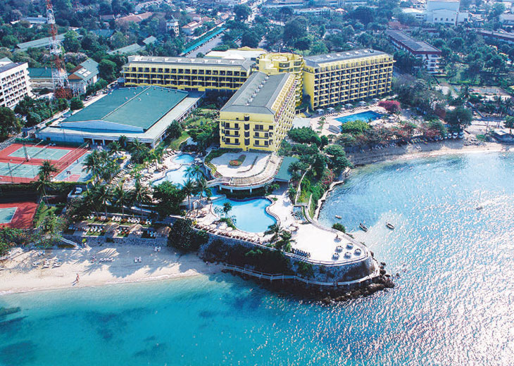 Long Beach Hotel Pattaya Location