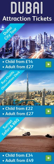Dubai attraction tickets