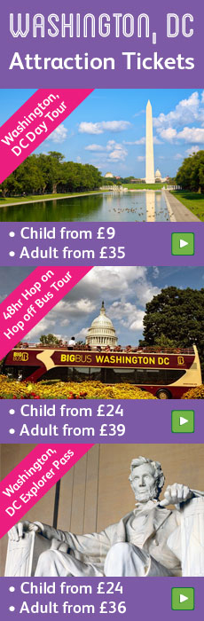 Washington, DC attraction tickets