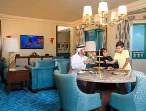 Regal suite at Atlantis The Palm